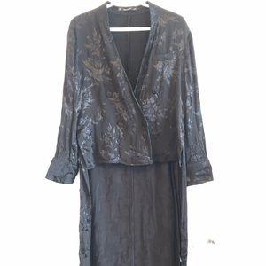2/30$ Zara high low duster blouse
